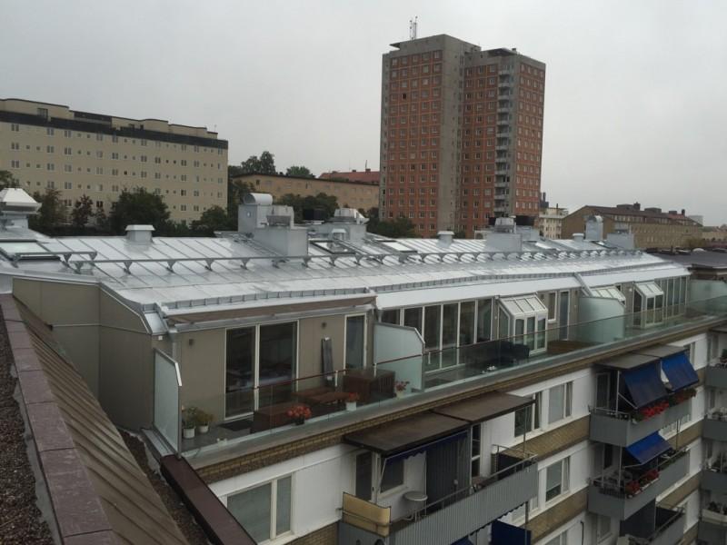 Beckasinen - fyra färdigställda penthouse